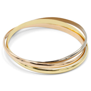 Cartier Trinity Tri-color Bracelet