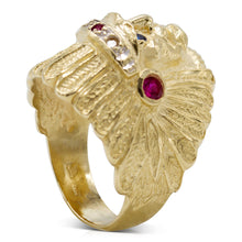 Load image into Gallery viewer, Indian Chief Ring