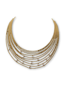 Cartier Multi-Strand Vintage Necklace in 18K Yellow Gold