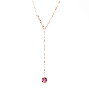 Rose Drop Necklace