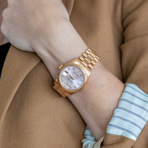 Rose Gold Rolex Watch