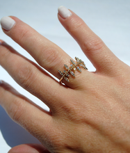 Load image into Gallery viewer, Dainty Diamond Vine Ring