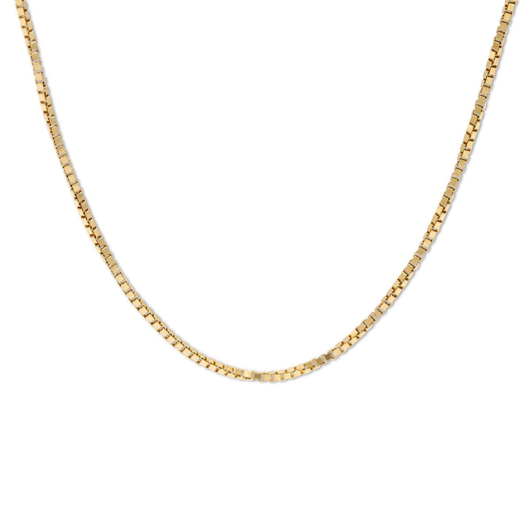 Gold Box Link Chain