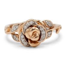 Load image into Gallery viewer, Rosebud Diamond Ring
