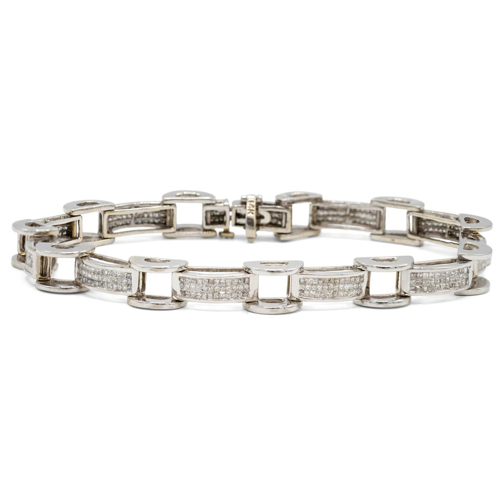 Box & Tread Link Bracelet