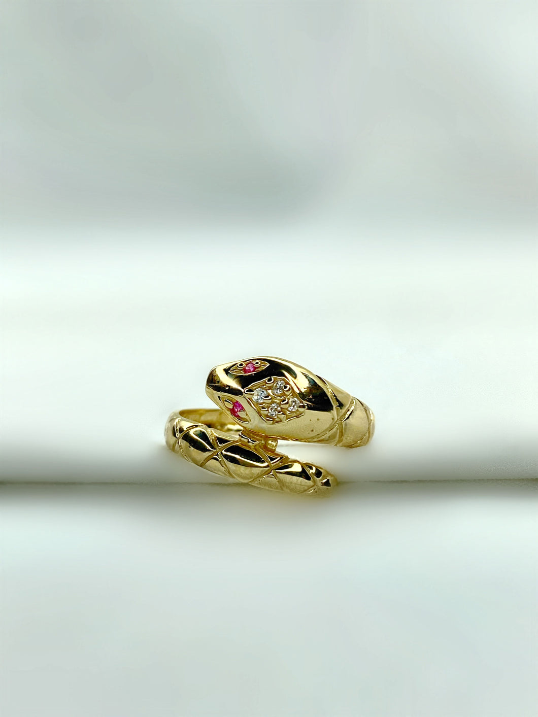 Wrap Serpent Ring