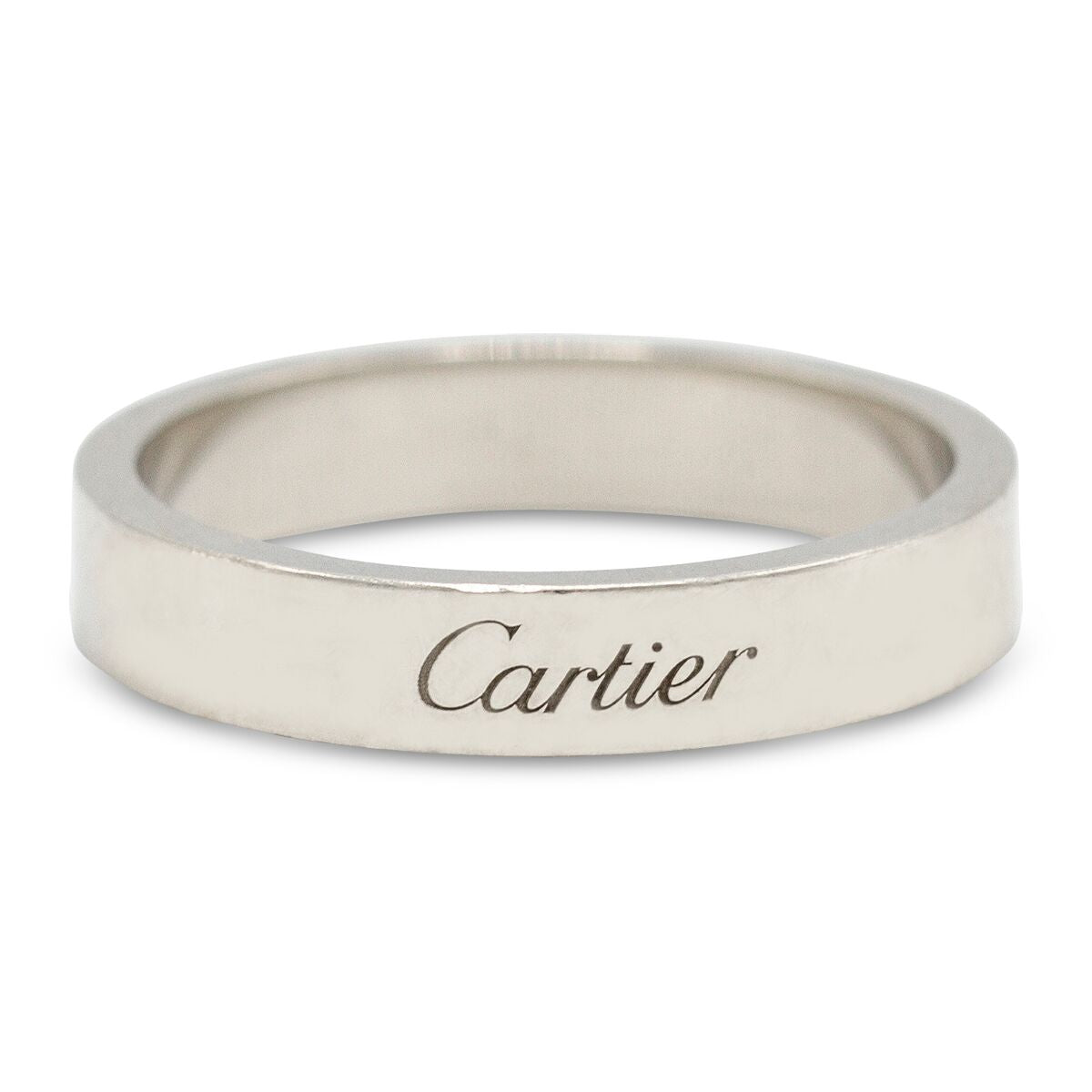 Cartier Woman's Platinum Band