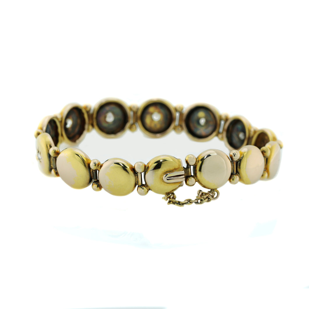 Antique Bracelet in 9K Yellow Gold