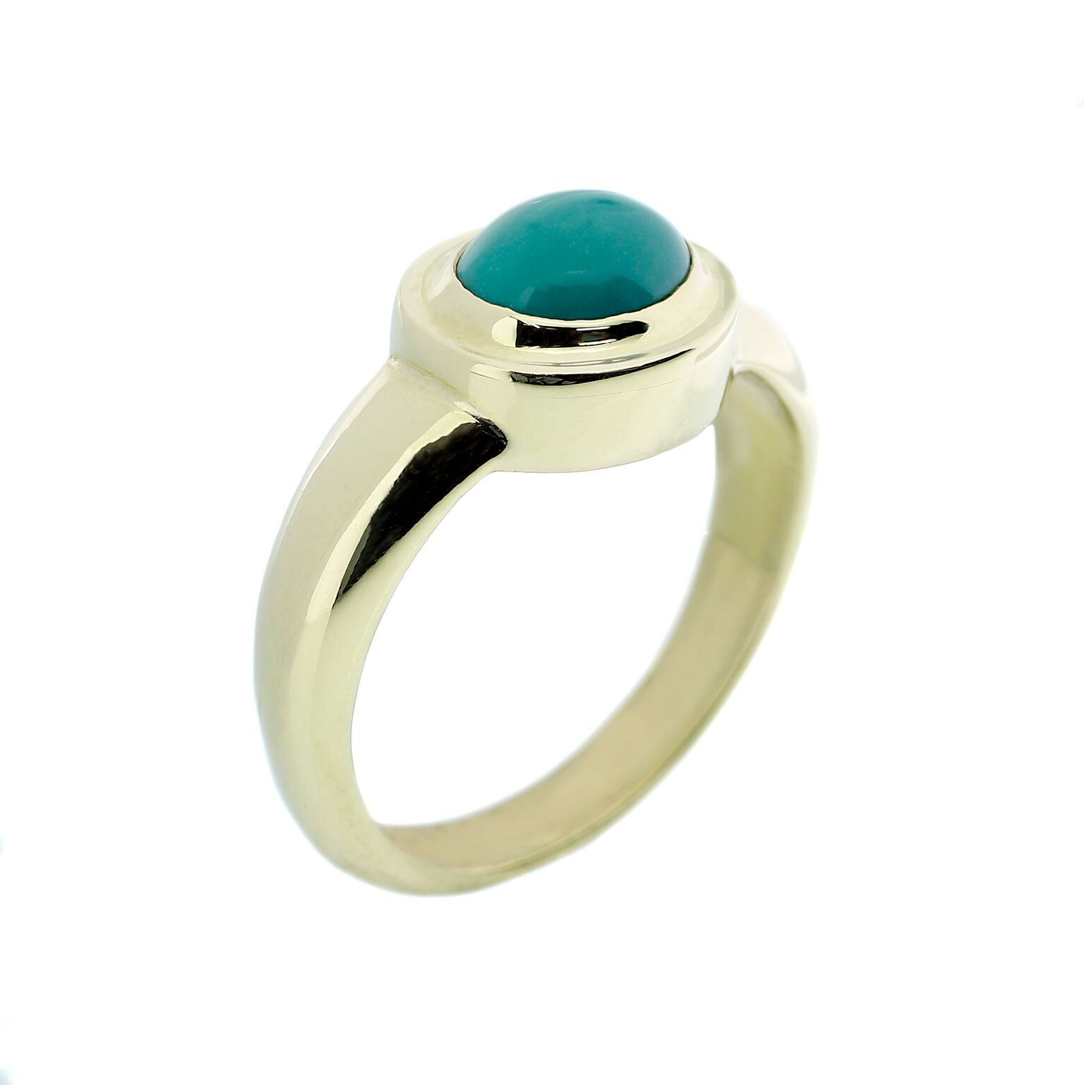 18kt Turquoise Ring