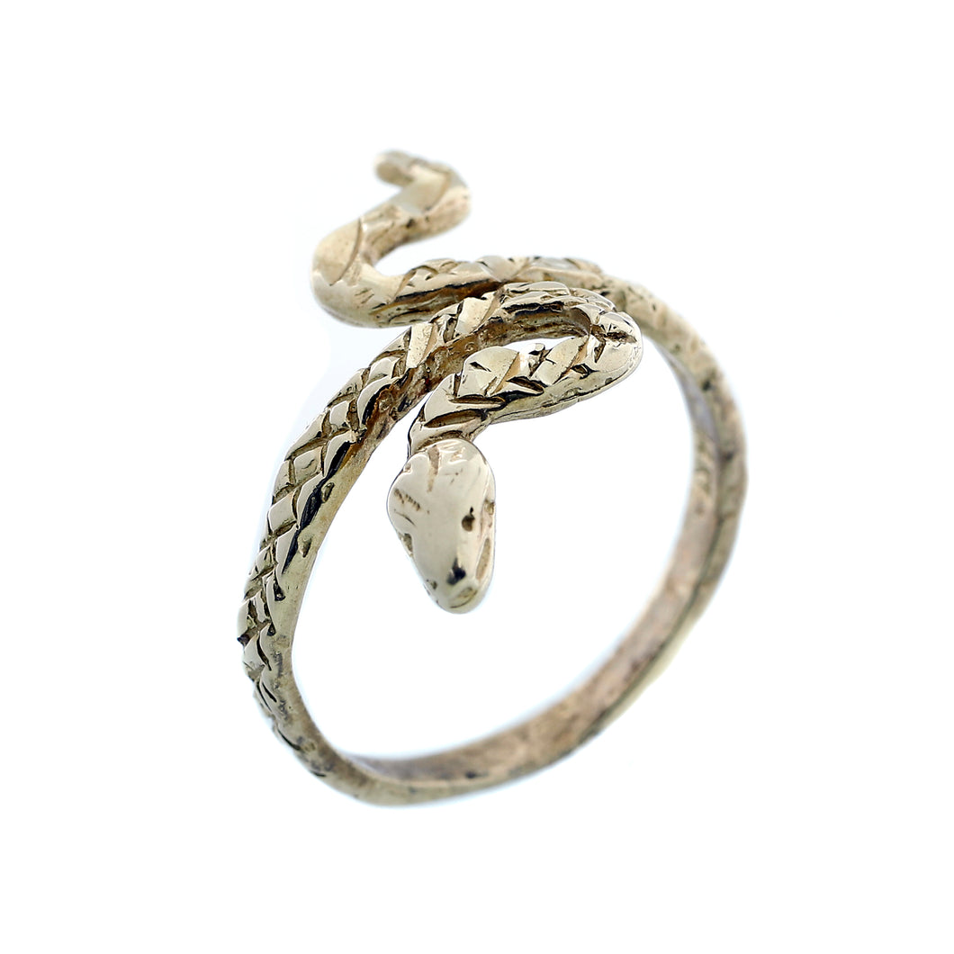 Detailed Serpent Ring