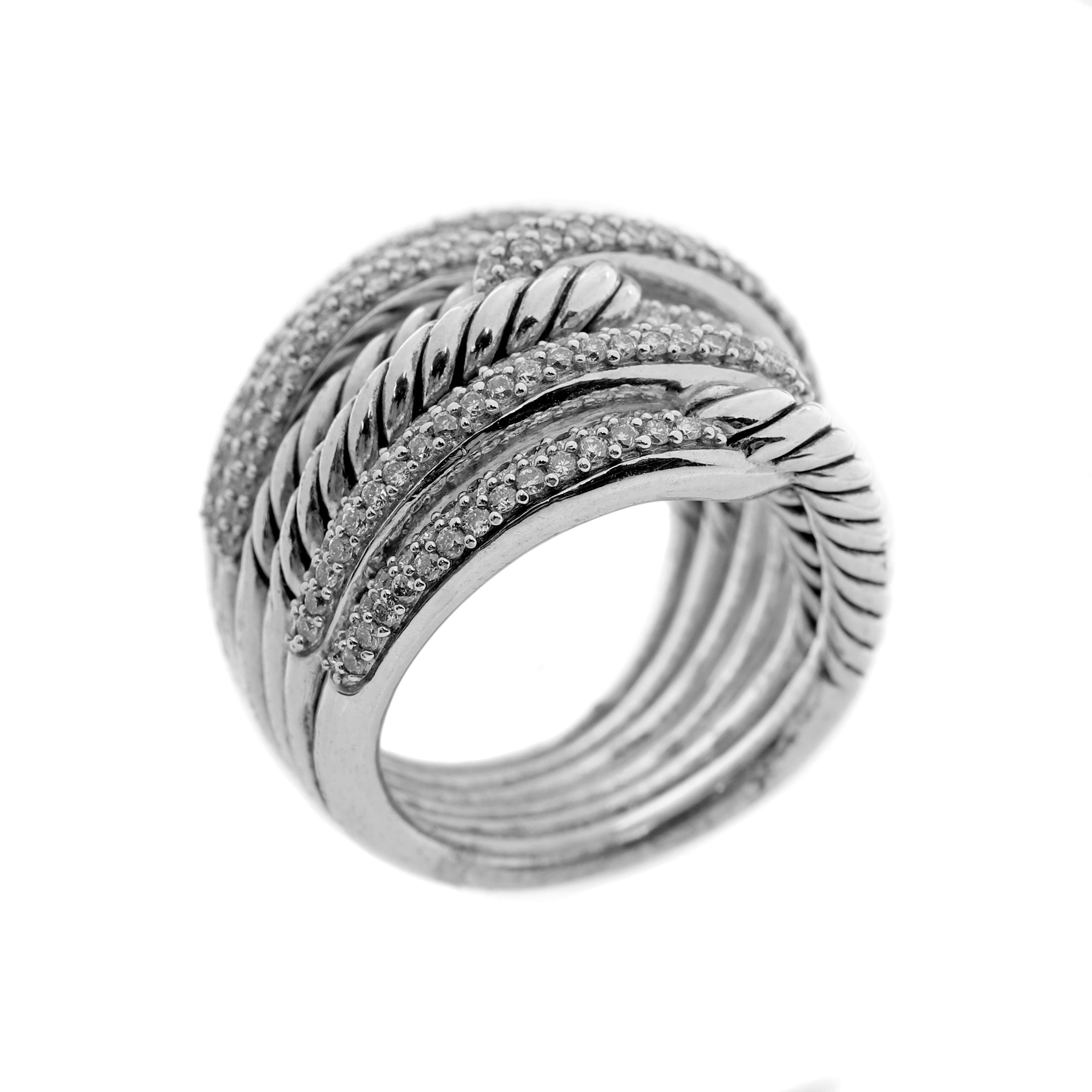 David Yurman Diamond Knot Ring