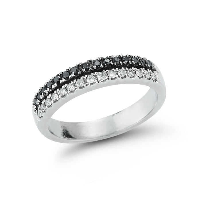 B&W Diamond Ring