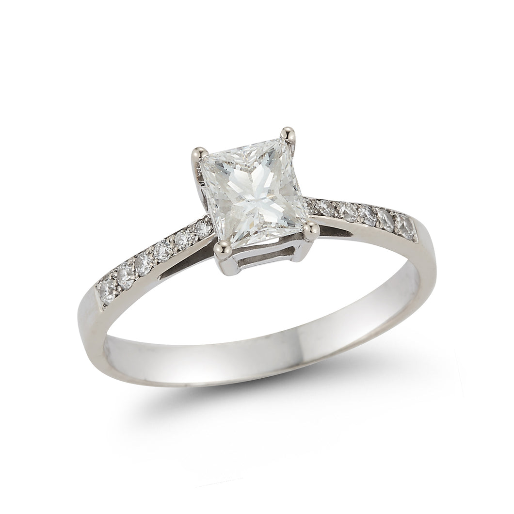 Princess Engagement Ring