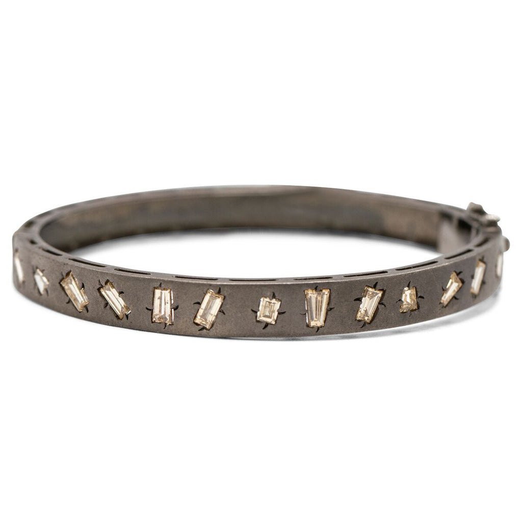 Rock & Roll Raw Cut Diamond Bracelet