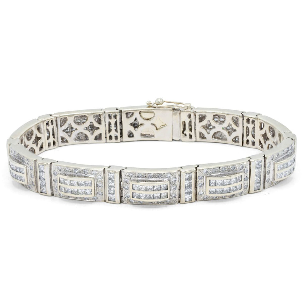 Men's Unique Diamond Bracelet
