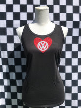 VW - LOVE VW! Racerback Tank Tops