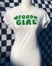 FORD GIRL Short Sleeve T-Shirt - WHITE