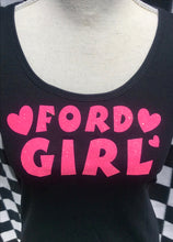 FORD GIRL - Racerback Tank Tops