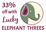 Lucky Elephant Threes