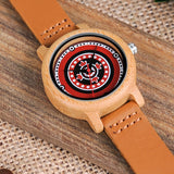 Bamboo Watch - Circle Design
