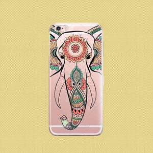 Elephant Mandala Phone Case