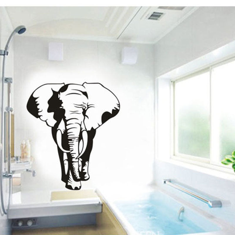 Elephant Art Mural wall stickers removable