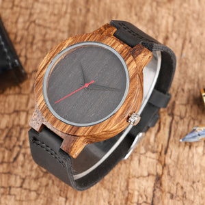 Black Wooden Watch