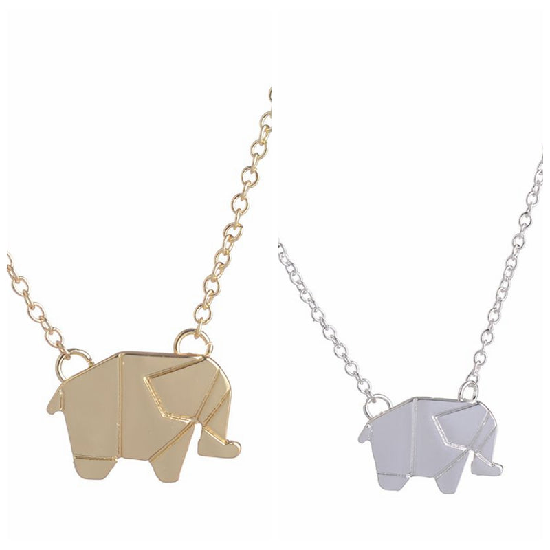 Elephant Necklace Long Chain   for Women