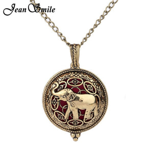 Elephant Aromatherapy Necklace Pendant