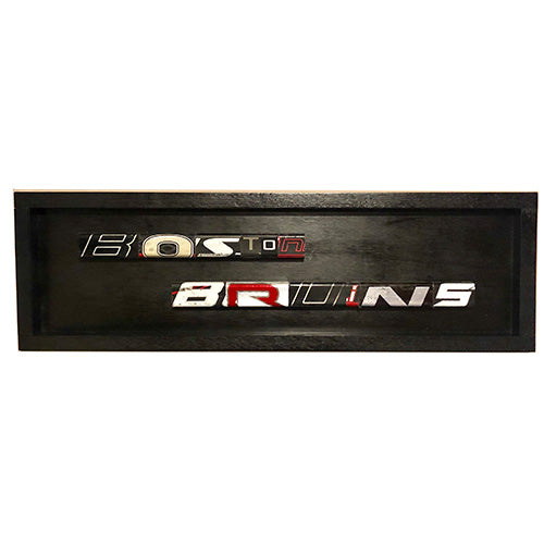Boston Bruins Name Plate
