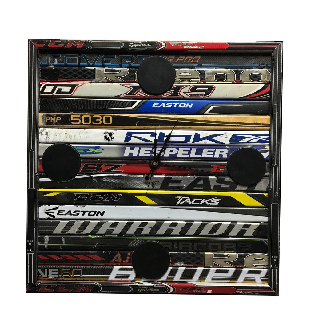 Custom Hockey Stick Clock