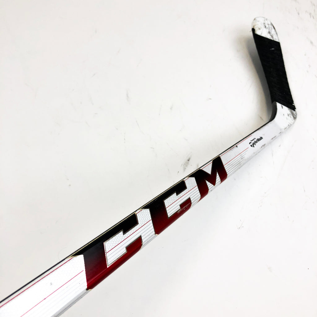 "Used Left Handed CCM Rbz Stage 2 / 100 Flex / H15 Curve / Grip / 66"" Tall"