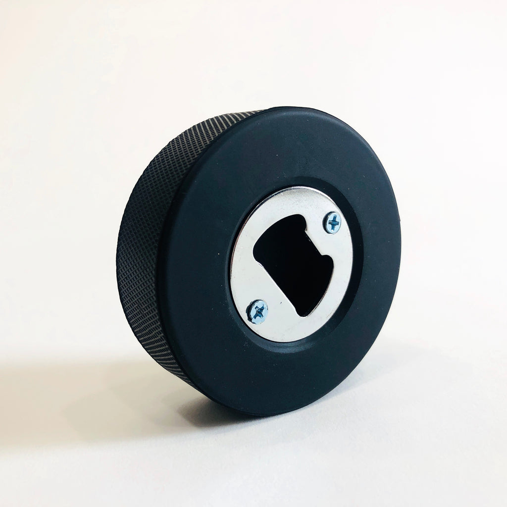 Hockey Puck Bottle Opener