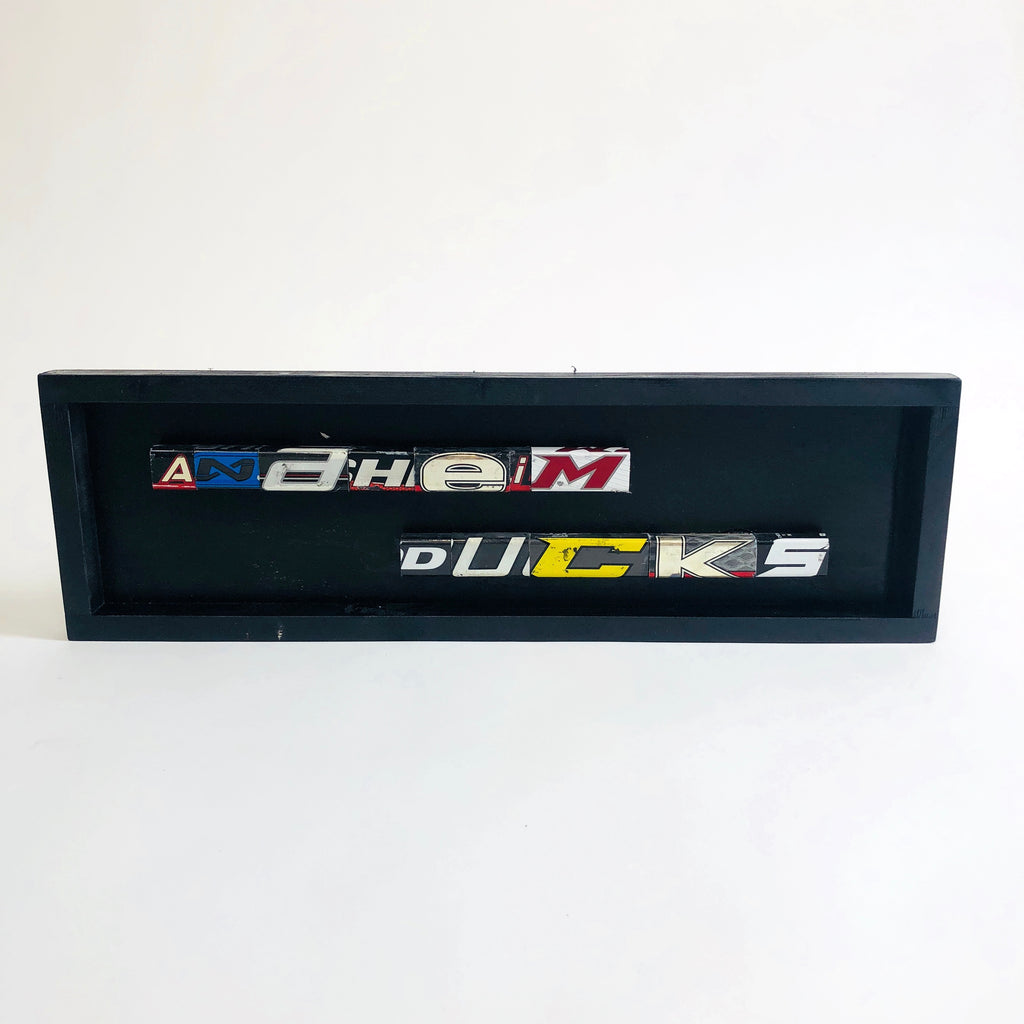 Anaheim Ducks Name Plate