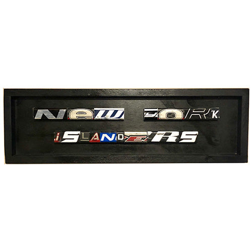New York Islanders Name Plate