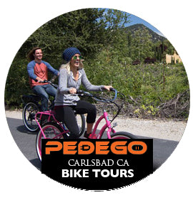 Pedego Carlsbad Bike Tour with our Without CruZen PhoneHolders