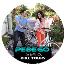 Pedego La Jolla Bike Tour with our Without CruZen PhoneHolders
