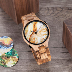 The Live Edge Timepiece