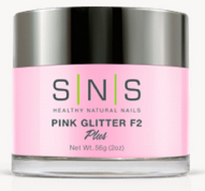 SNS Natural Pink Glitter F2