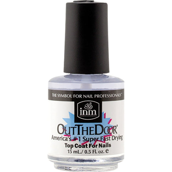 INM Out The Door Top Coat, 0.5 Ounce