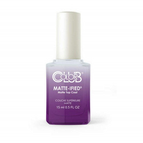 Color Club MATTE-IFIED Matte Top Coat .5oz/15mL