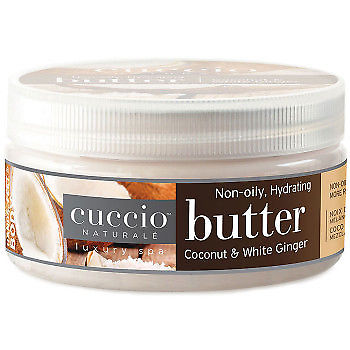 Cuccio Naturale ButterCoconut & White Ginger 8oz - Knailsupply