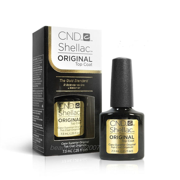 CND Shellac ORIGINAL Top Coat, .25 fl oz