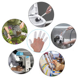 Finger Cots Latex, Finger Cover Finger Protectors Finger Applicators Fingertips Protector Disposable Medium Finger Gloves, 288 pcs