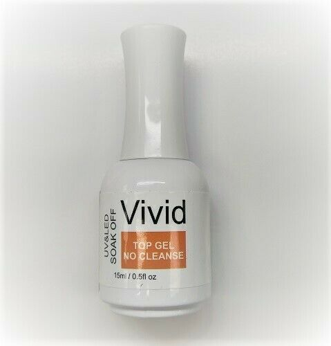 Vivid Gel Top Coat No Cleanse U/V LED .5oz