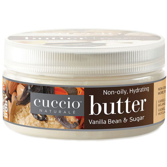 Cuccio Naturale Butter Vanilla Bean & Sugar 8oz