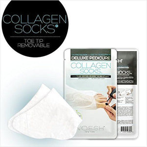 VOESH Pedicure Foot Mask Collagen Socks (pick your quantity)