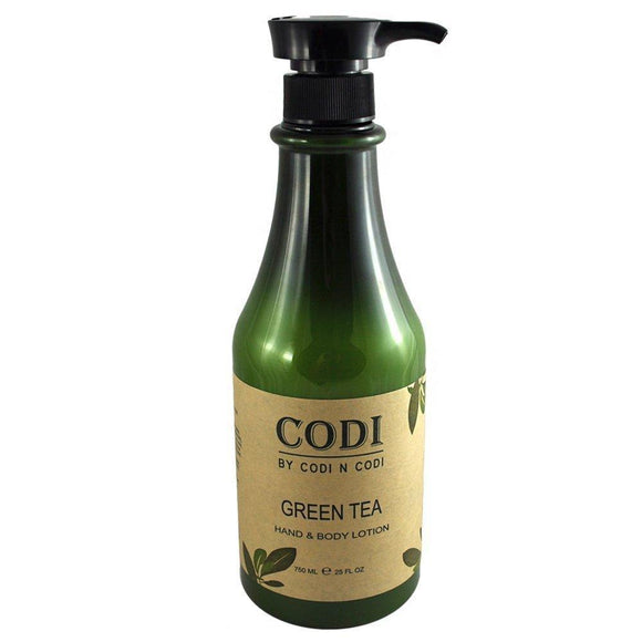 Codi Green Tea Hand & Body Lotion 750ml/25oz