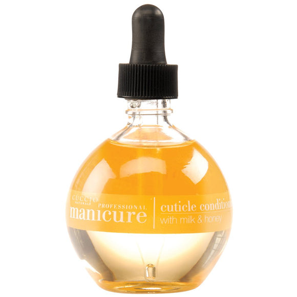 Cuccio Revitalize Cuticle Oil, 2.5 Ounce (Milk & Honey)