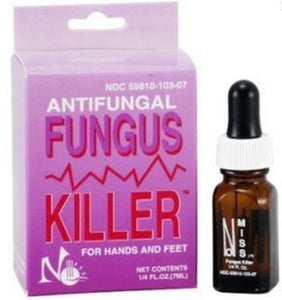 Miss Nail Hands Feet Fungus Killer Anti Fungal .25oz/7.3ml